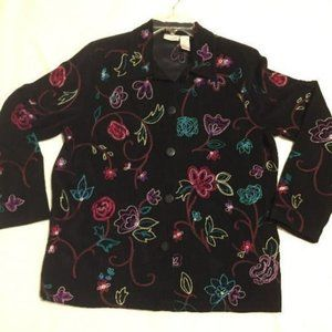 Embroidered Light Weight Jacket
